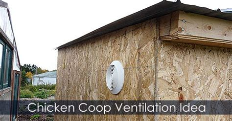 chicken coop ventilation fans chicken coop building exhaust fan idea