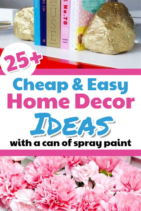 creative home decorating ideas on a budget affordable