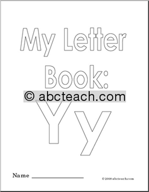 My Letter Y Coloring Page by Coloring Pages My Letter Y Coloring Book Abcteach
