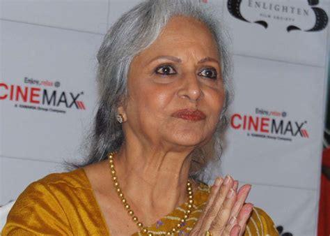 waheeda rehman guide movie hairstyles photo guide was a challenge for me waheeda rehman ndtv movies