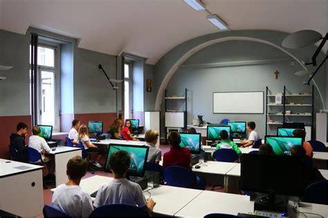 ecdl pavia collegio san giuseppe aule di informatica e laboratori
