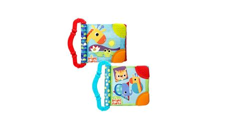bright starts teethe read teether books 2 pack only 5