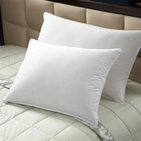 50 50 feather pillow