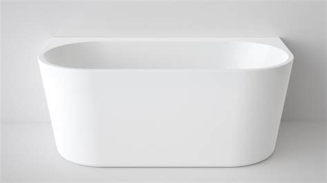 freestanding bathtubs australia buy caroma aura 1400mm back to wall freestanding bath