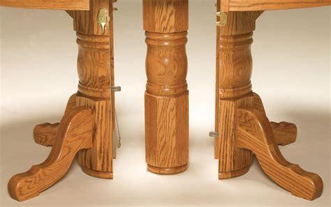 amish split pedestal table richmond hill split pedestal table countryside amish