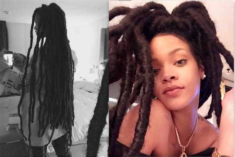latest dread rihanna quot i ve wanted dreads since i was 14 now i got them