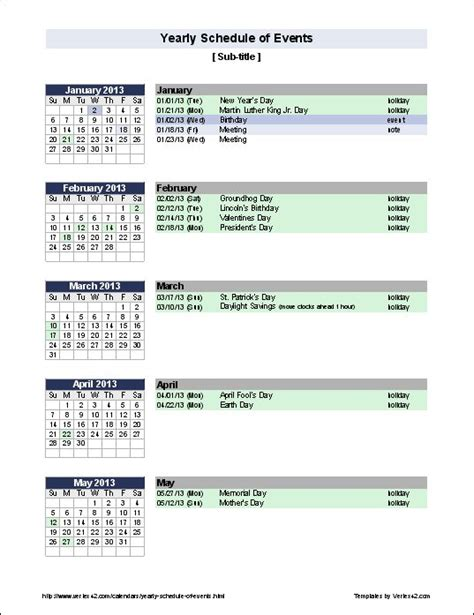 make a calendar of events 45 best images about calendars and planners on