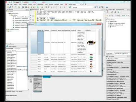 delphi livebinding tutorial display returned json format data in a stringgrid and