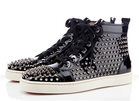 louis vuitton sneakers with spikes black spiked louis vuitton shoes christian louboutin mens