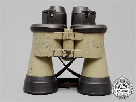 u boat binoculars zeiss a rare set of u boat commander s binoculars c 1943 by carl
