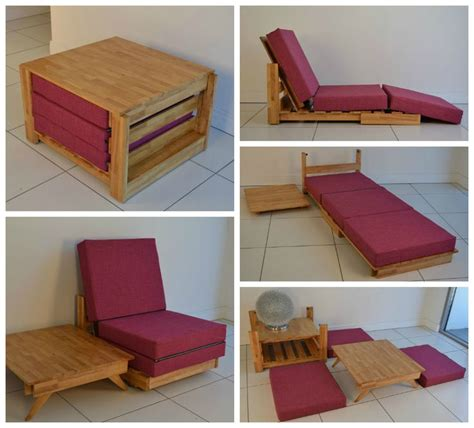 chairs that make into beds kewb pronounced quot cube quot this compact piece starts out as