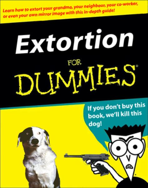 for dummies template book cover extortion for dummies x for dummies your meme