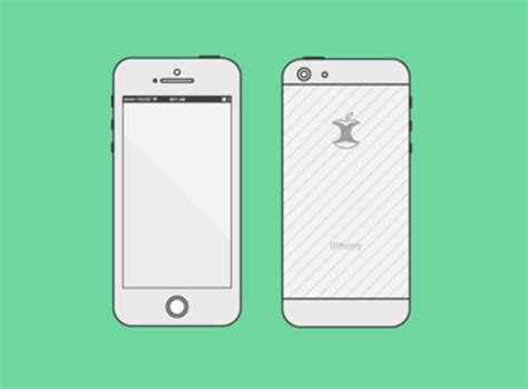 iphone skin template iphone 6 wireframes by oleg