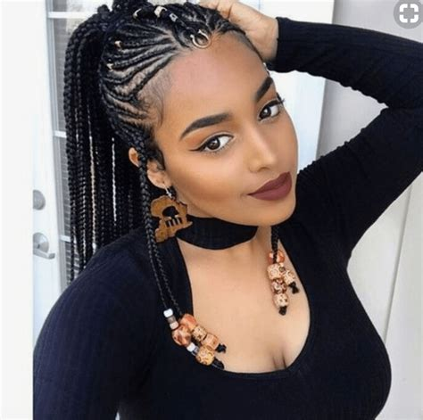 pictures of stylish braids fulani braids naturally yours pinterest black girl