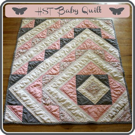 Quilting Tutorials On by Ricochet And Away Hst Baby Quilt Tutorial