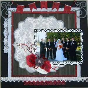 wedding scrapbook page pretty wedding scrapbook page scrap wedding