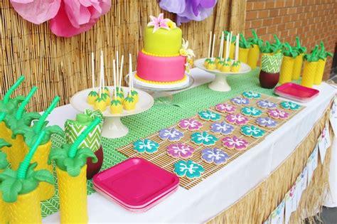 birthday themes hawaii kara s party ideas hawaiian 2nd birthday party
