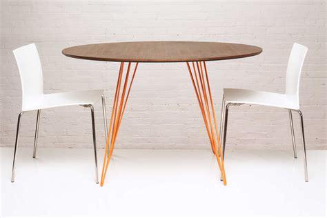 46 dining table tronk design williams walnut orange 46 dining
