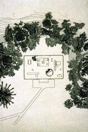 philip johnson glass house floor plan house design plans