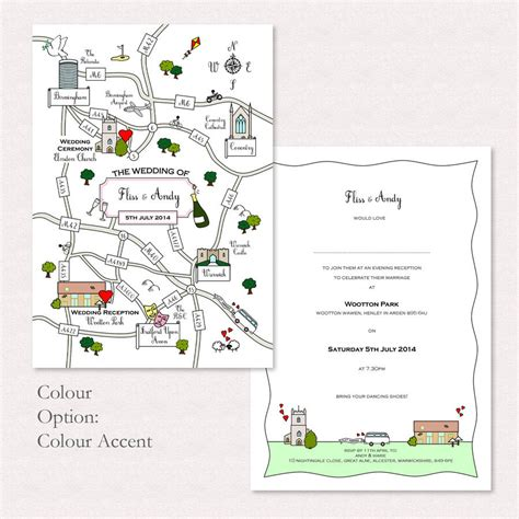 wedding invitation map template wedding or illustrated map invitation by maps