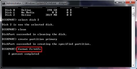diskpart format low level toturial formatear disco usando cmd en windows easeus