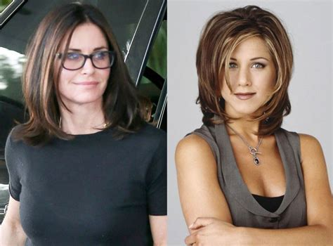 updated version of the rachel haircut courteney cox is rocking an updated version of the rachel