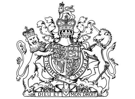 Armoiries Royales Royaume Uni Dieu Et Mon Droit Rois Et