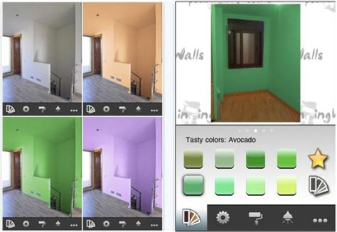 paint that changes color with app ideas project color by the home depot apps 148apps wall