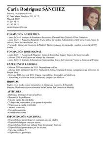 Modelo De Curriculum Vitae Para Trabajo En Banco Modelo De Curr 237 Culum V 237 Tae Cajero Cajero Cv Plantilla Livecareer