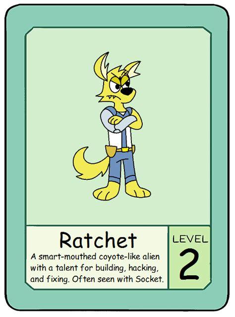 Ok Ko Pow Card Template by Image Pow Card 6 Ratchet Png Ok K O Wiki Fandom