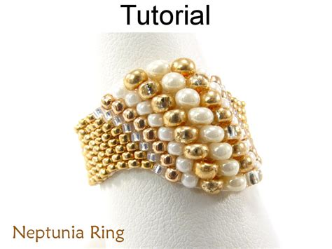 beaded rings free patterns tutorials jewelry making beading tutorials and patterns beaded