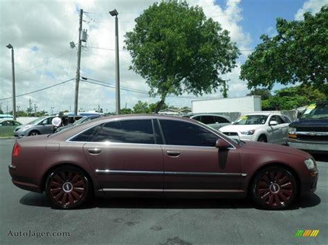Audi A8 Custom by 2007 Audi A8 L 4 2 Quattro In Custom Matte Burgundy Photo