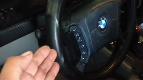 electric power steering 2004 bmw 5 series seat position control tip on seat and steering wheel problem not woring fix 97 03 bmw 5 series e39 528i 540i m5 youtube