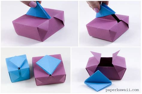 Origami Cool Box - 17 best images about origami box envelope dish on