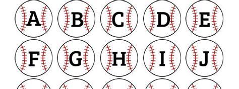 free printable baseball alphabet banner pack baseball alphabet clipart collection