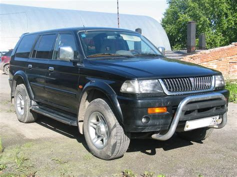 hayes car manuals 1999 mitsubishi montero sport electronic toll collection 1999 mitsubishi pajero sport pictures 3 0l gasoline manual for sale