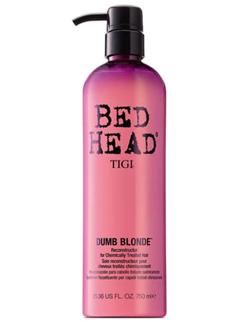bed head dumb blonde tigi bed head dumb blonde reconstructor conditioner 750ml