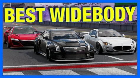 widebody cars forza 7 best widebody car