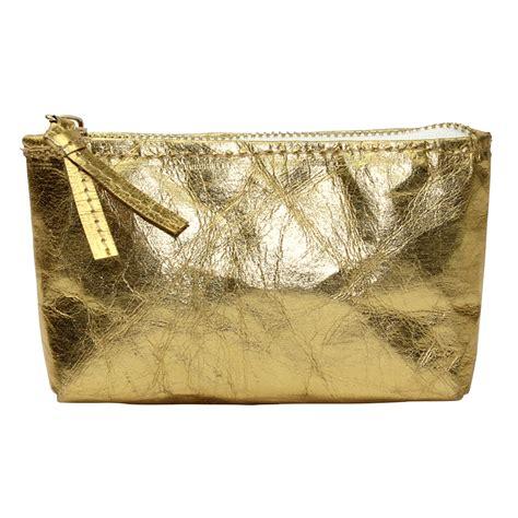 Lalang Cosmetic Makeup Bag Gold gold metallic makeup bag mugeek vidalondon