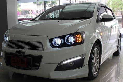 P1 Chevrolet Aveo 2013 Cover chevrolet aveo sonic dual projector xenon 6000k vs led