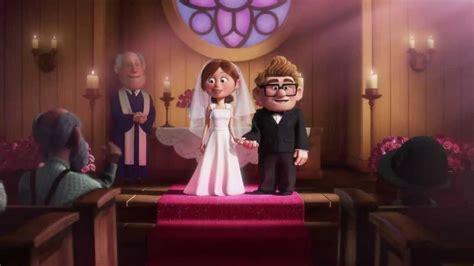 up film wedding up pixar s animation carl n ellie married life hdhd 01