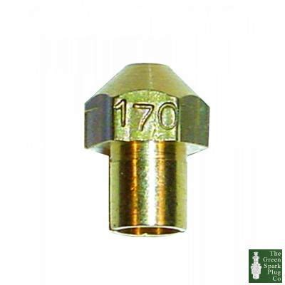 1x weber replacement dcoe jet 225 2273401 225 weber 2273401 225 from the green spark