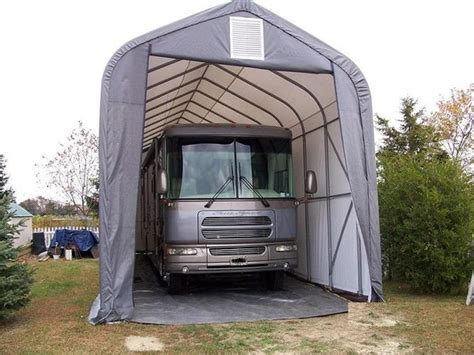 Winter Carport How To Keep An Rv In Winter With A Carport