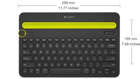 K 480 Bluetooth Multi Device Keyboard Blackwhite k480 keyboard multi device logitech en us