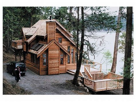 Vacation Cottage Plans by Cool Lake House Designs Small Lake Cottage House Plans