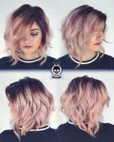 ways to style asymmetrical hair 10 pretty pastel hair color ideas with blonde silver