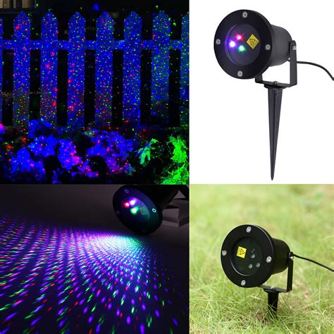 Laser Light Outdoor Rgb Outdoor Auto Dynamic Laser Projector Light Garden Landscape Lighting Ip65 Us Ebay