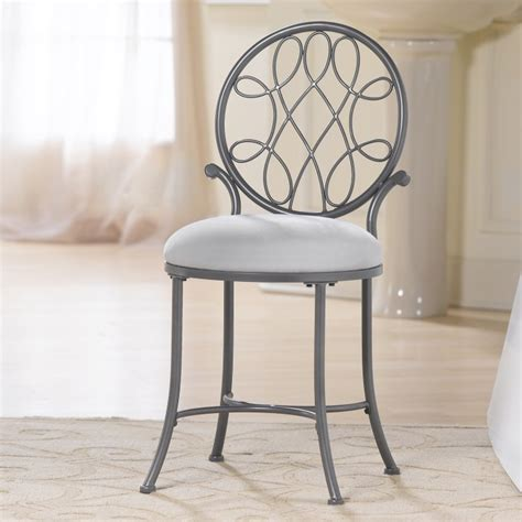 small white vanity chair vanity chair with back design options homesfeed