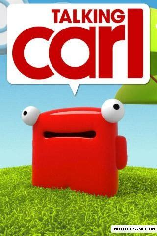 talking carl apk talking carl free android app the free talking carl app to your android