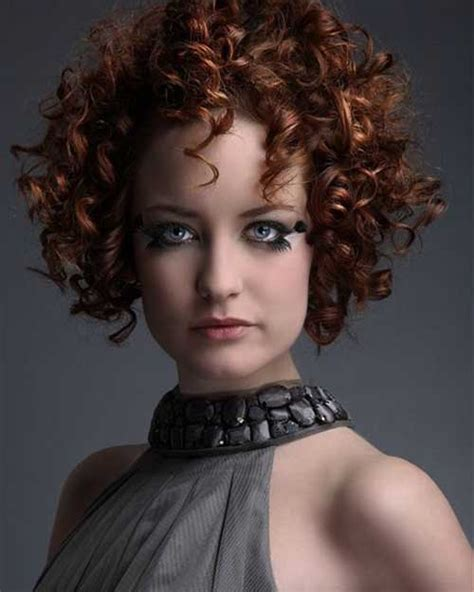 hairstyles for permed short hair with bangs short curly perms the best short hairstyles for women 2016